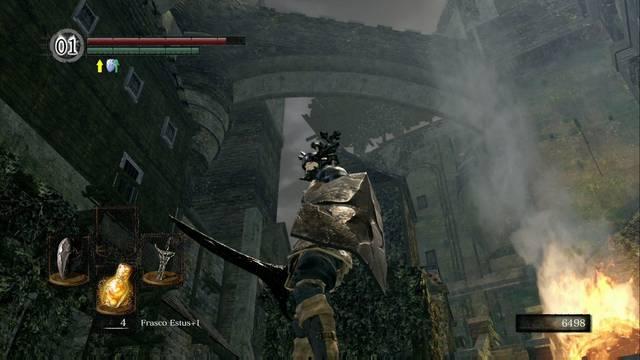 Burgo de los no muertos (nivel inferior) en Dark Souls Remastered al 100%