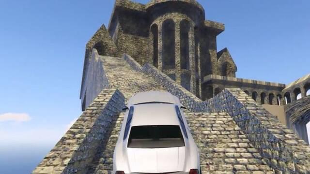 Descubren un edificio de Bloodborne oculto en Dark Souls y lo llevan a GTA V