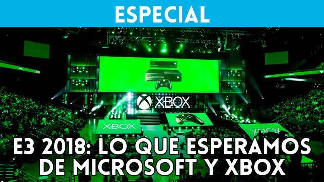 E3 2018: Lo que esperamos de Microsoft y Xbox One