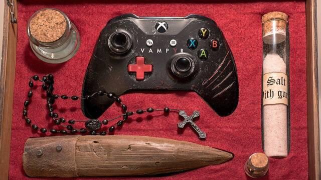 Personalizan una Xbox One S con motivos de Vampyr