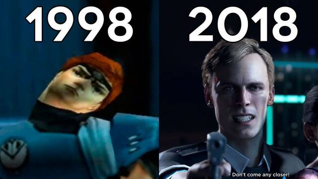 Así ha sido la evolución de los gráficos de Quantic Dream