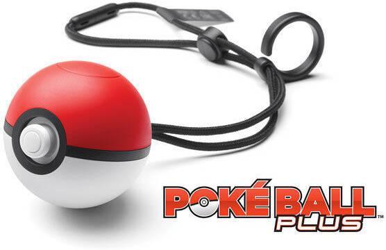 Así es la Poké Ball Plus, compatible con Pokémon para Switch y GO