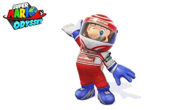 Super Mario Odyssey suma un nuevo traje hoy mismo
