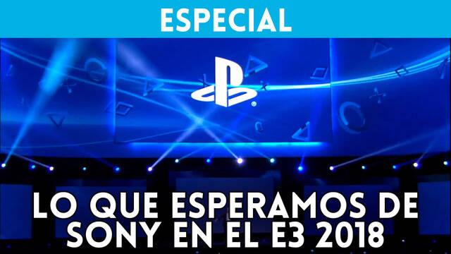 E3 2018: Lo que esperamos de Sony y PlayStation 4