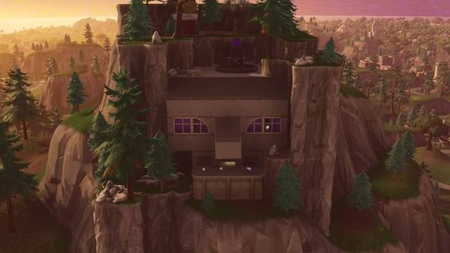 Base del supervillano en Fortnite Battle Royale