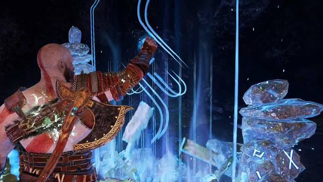 Viajar rápido entre portales en God of War (PS4)