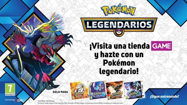 Consigue los nuevos Pokémon Legendarios Yveltal y Xerneas en tiendas GAME