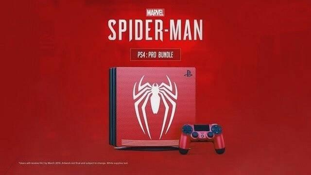 Filtran la supuesta imagen de un pack de PS4 Pro y Spider-Man