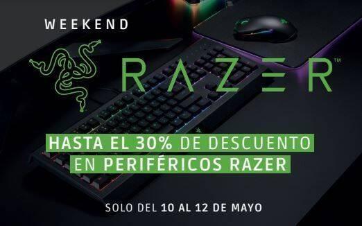 GAME anuncia las rebajas del Razer Weekend del 10 al 12 de mayo