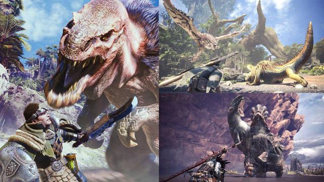 Juega gratis a Monster Hunter: World en PS4 hasta el 20 de mayo