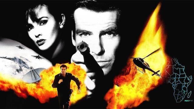 Así era originalmente GoldenEye 007, un 'shooter sobre raíles'
