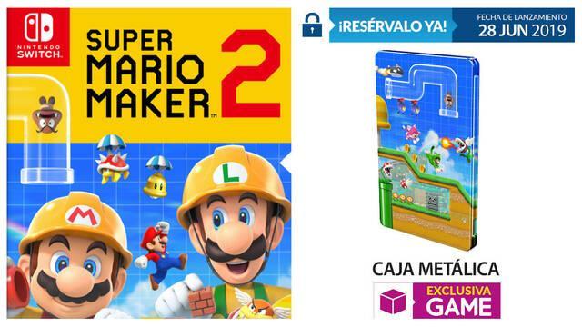 GAME anuncia su incentivo por reserva para Super Mario Maker 2