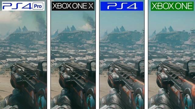 Comparan los gráficos de RAGE 2 en Xbox One, Xbox One X, PS4 y PS4 Pro