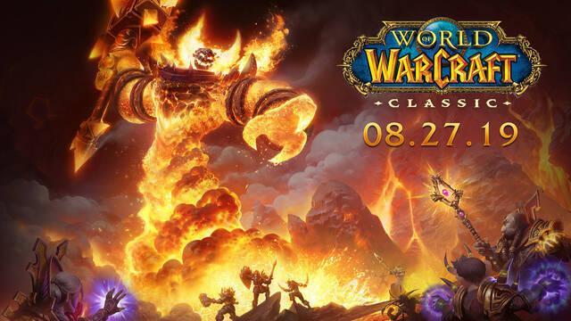 World of Warcraft: Classic estará disponible el 27 de agosto
