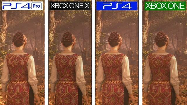 Comparan los gráficos de A Plague Tale en Xbox One, PS4, PS4 Pro y Xbox One X