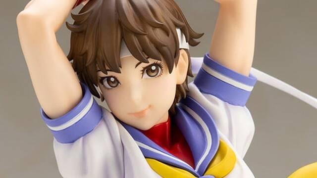 Kotobukiya presenta su nueva figura basada en Sakura de Street Fighter