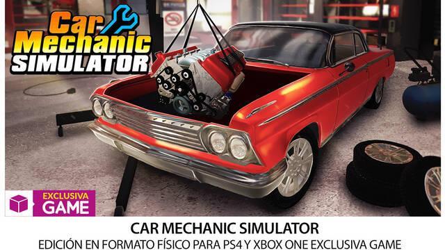 GAME venderá la edición física de Car Mechanic Simulator en exclusiva