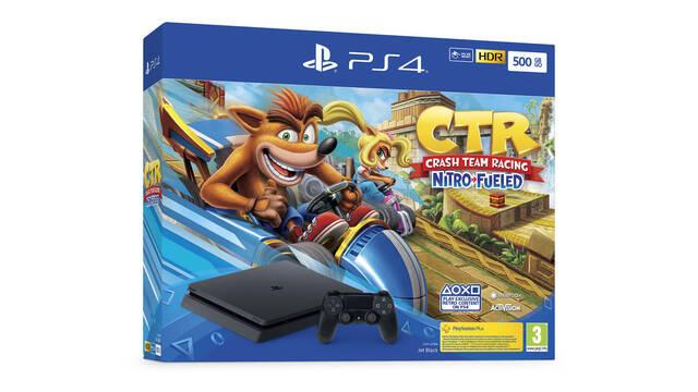 Sony anuncia nuevos packs de PS4 con Crash Team Racing Nitro-Fueled