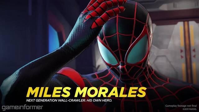 Marvel Ultimate Alliance 3: The Black Order presenta Miles Morales en tráiler