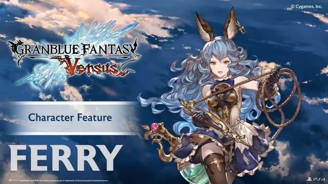 Granblue Fantasy Versus muestra a Ferry y Lancelot en acción