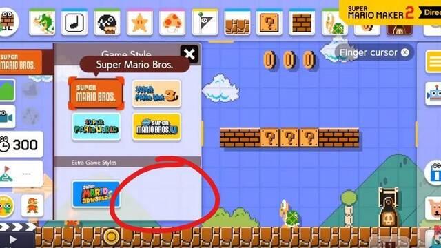 Rumor: Super Mario Maker 2 tendría otro estilo de juego no anunciado