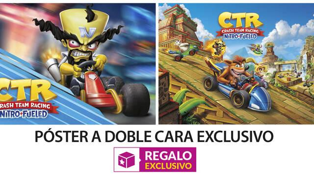 GAME detalla su incentivo por reserva para Crash Team Racing Nitro-Fueled