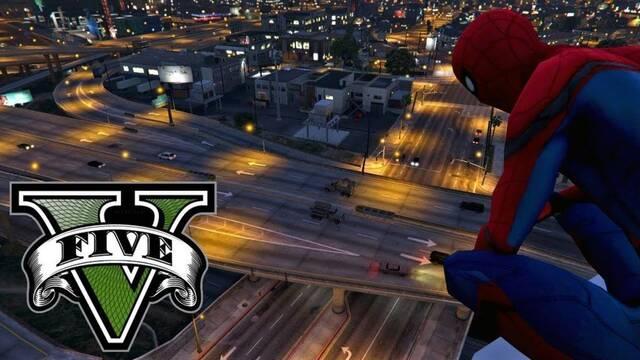 Spider-Man de PS4 se hace real en este mod para GTA V en PC