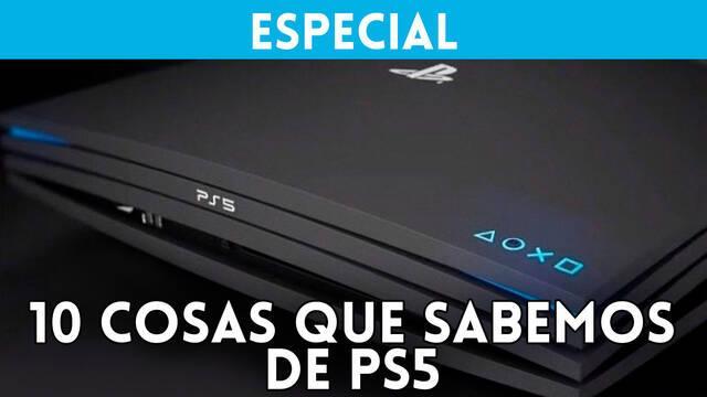 10 cosas que sabemos de PlayStation 5