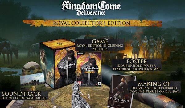 Kingdom Come presenta su nueva y completa edición de coleccionistas