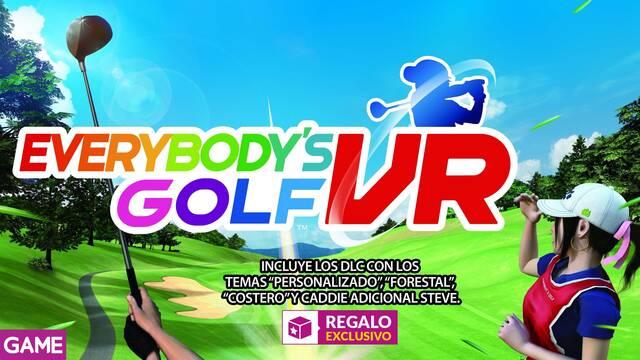 GAME detalla su incentivo por reserva para Everybody's Golf VR en PS4