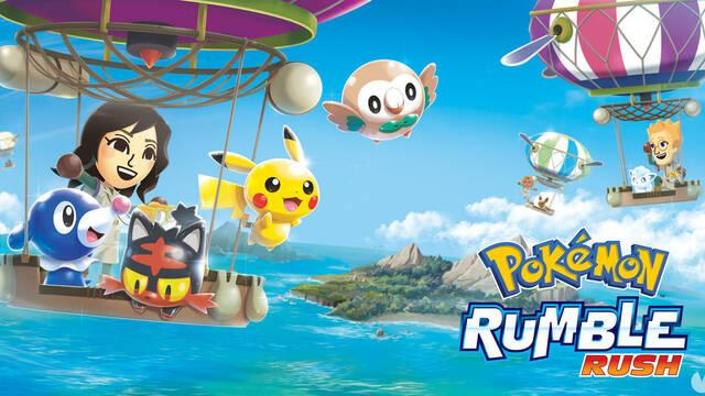 Pokémon Rumble Rush ya disponible en dispositivos iOS