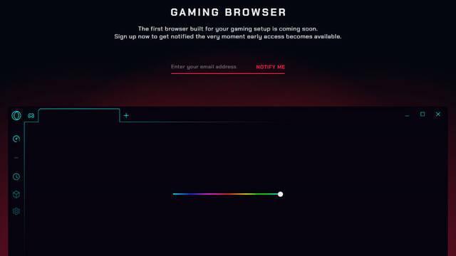 Opera anuncia su navegador para 'gamers'