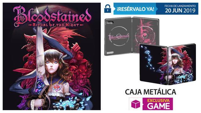GAME detalla su incentivo por reserva para Bloodstained: Ritual of the Night