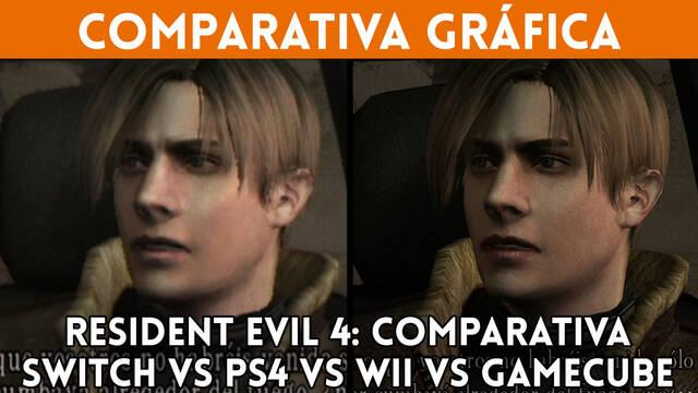 Resident Evil 4: Comparamos sus gráficos en GameCube, Wii, PS4 y Nintendo Switch