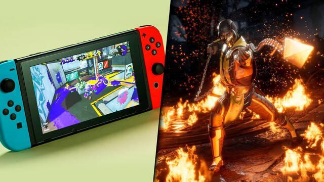 Switch y Mortal Kombat 11, lo más vendido en EE.UU. durante abril