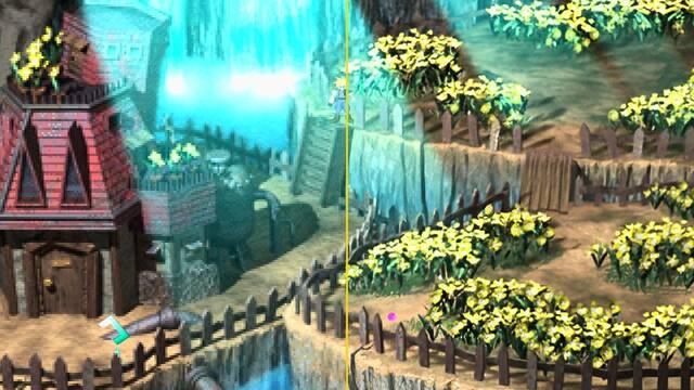 Comparan la remasterización fan de Final Fantasy VII con el original