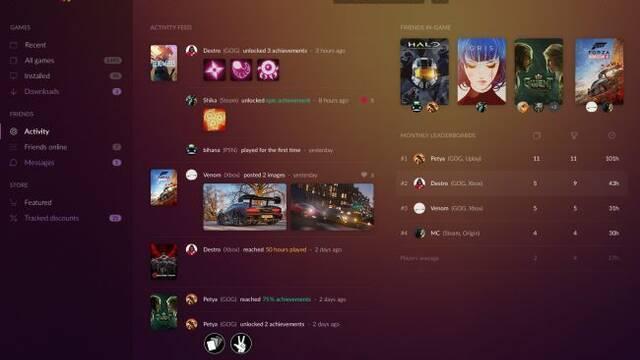 GOG Galaxy 2.0 quiere aunar todos los juegos de PC y consolas