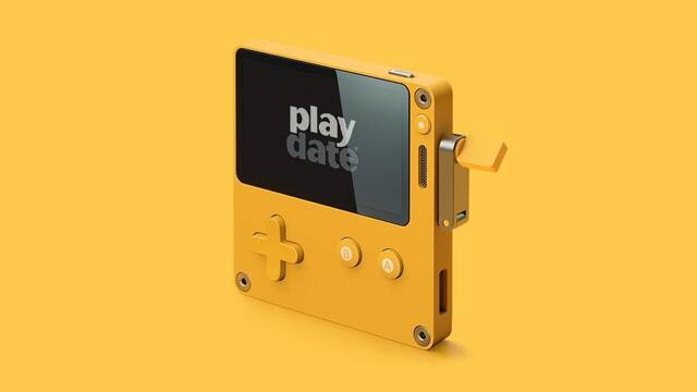 Así es Playdate, una original consola portátil con manivela