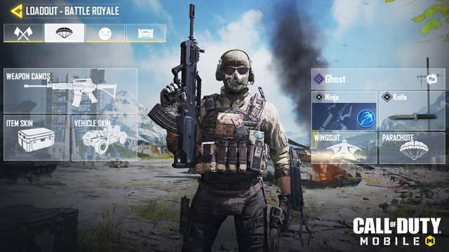 Call of Duty: Mobile detalla su modo Battle Royale y sus clases