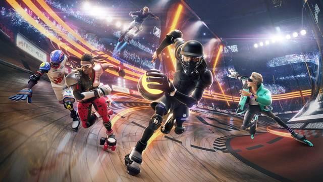Se filtran los primeros materiales gráficos de Roller Champions, de Ubisoft