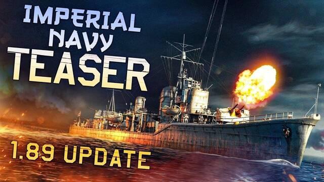War Thunder muestra la Armada Imperial Japonesa de su actualización 1.89