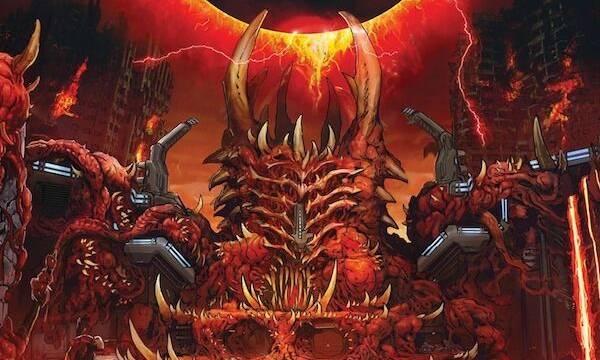 DOOM Eternal estrena un nuevo y brutal arte conceptual