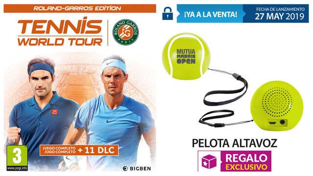 GAME detalla su incentivo por compra para Tennis World Tour: Roland-Garros Edition