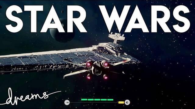 Recrean un juego de X-Wing de Star Wars en Dreams