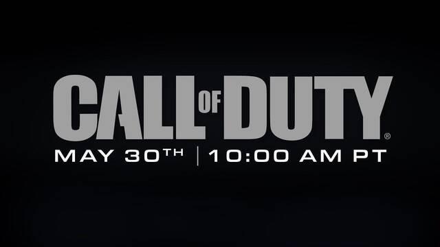 El nuevo Call of Duty se dará a conocer mañana 30 de mayo a las 19:00h