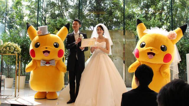 Pokémon ya cuenta con un servicio de bodas oficiales en Japón
