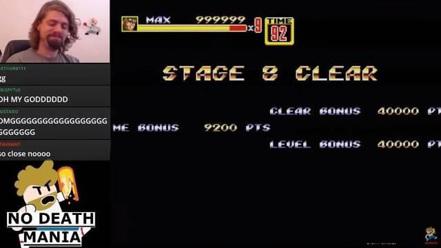 El campeón de Streets of Rage 2 supera el juego sin muertes con Max