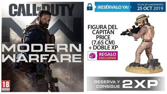GAME detalla sus incentivos por la reserva de Call of Duty: Modern Warfare