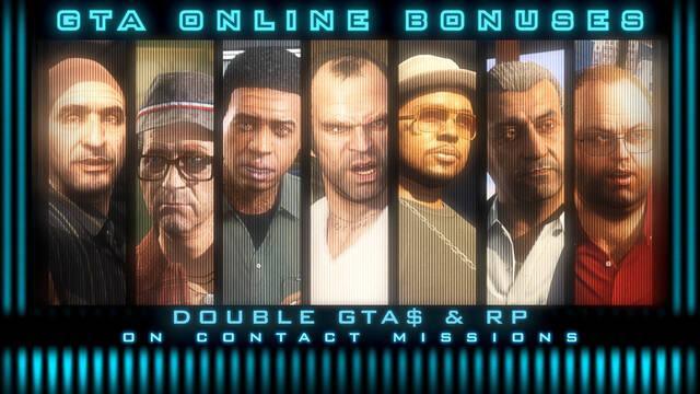 GTA Online: Recompensas dobles en misiones y bonificación de 250.000 GTA$