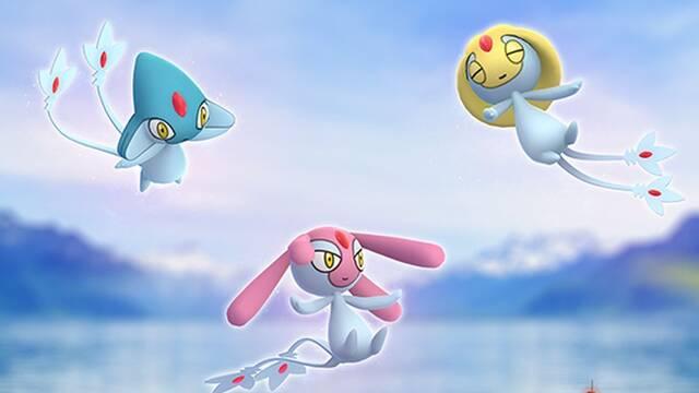Pokémon GO: Uxie, Mesprit y Azelf llegan a las Incursiones hasta el día 27